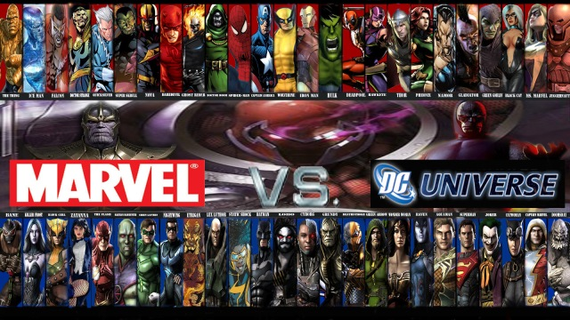 Marvel V DC   Who cares?  I'm an adult.
