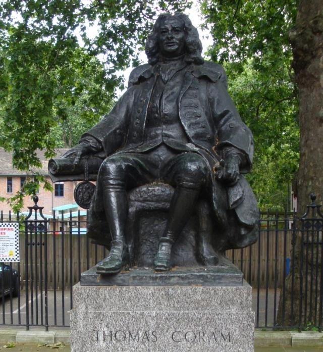 Statue of Thomas Coram