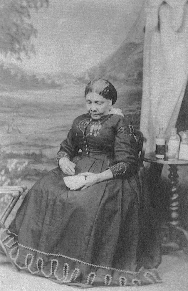 One of the rare photos of Mary Seacole