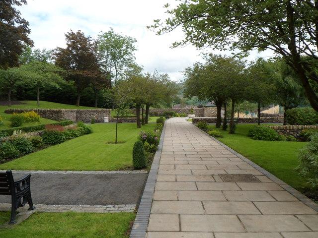 The Aberfan Memorial Garden - photo by Jaggery