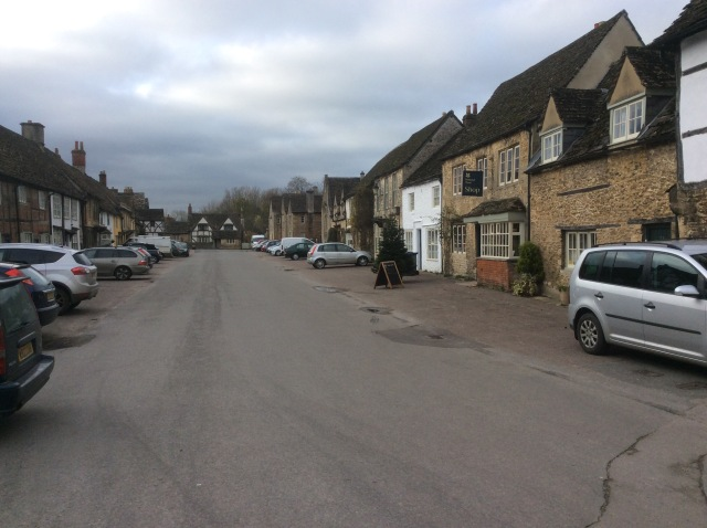 Lacock Village, beautiful as ever but deserted in winter. Frozen in time and seen around the world in BBC shows as well as Downton Abbey, Harry Potter, Wolfman and many others