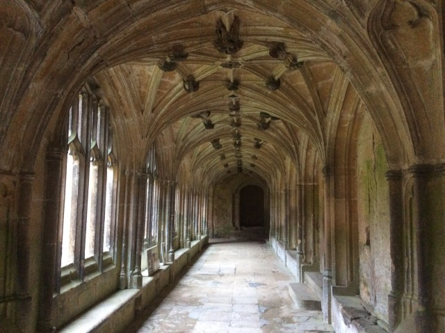 Lacock Abbey is almost 800 years old. This part of the Cloisters might be familiar to fans of Harry Potter as Harry, Hermione and Ron often walked here though they knew it as Hogwarts