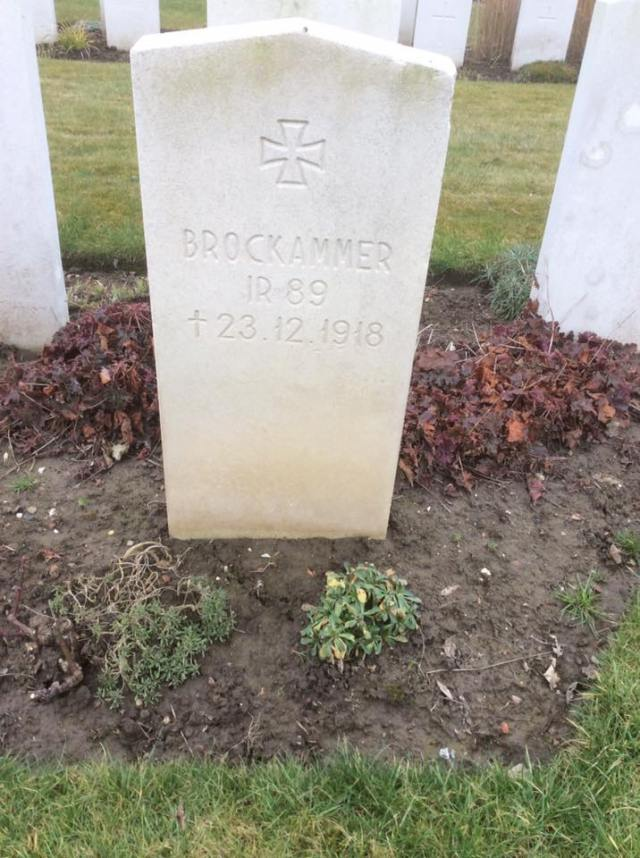 This grave is of an unfortunate German soldier in a British cemetery who sadly died 6 weeks after the end of the war, likely due from a serious injury or possibly disease.