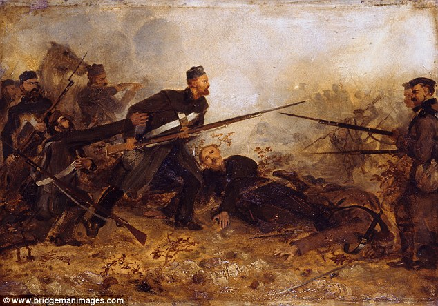 3a4f392600000578-3930948-a_painting_of_private_john_mcdermond_at_the_battle_of_inkerman_o-a-1_1479006139678