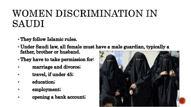 Saudi Discrimination against Women