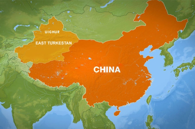 A third of China shouldn't really by Chinese at all and since its conquest in the mid-20th century has been flooded with ethnic Han Chinese.