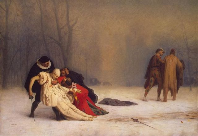 The Duel After the Masquerade is a painting by the French artist Jean-Léon Gérôme