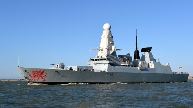 HMS Dragon - A Daring Class Destroyer