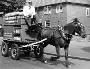 horse-drawn-milk-float