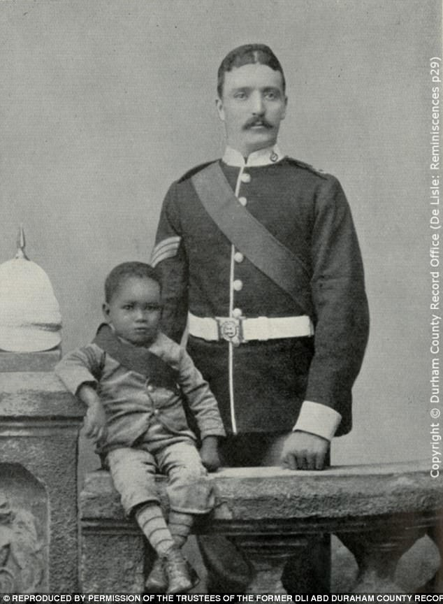 James Durham and Colour Sergeant Stewart