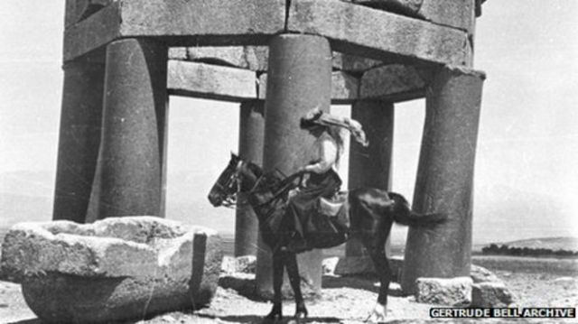 Gertrude Bell, the Queen of the desert.