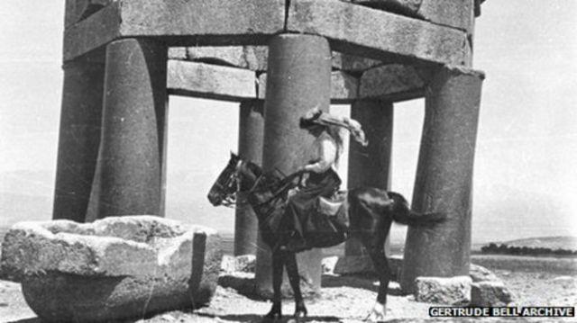 Gertrude Bell, the Queen of the desert.