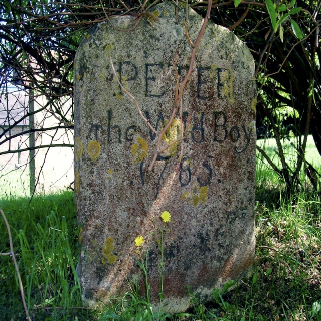 The Gravestone of Peter The Wild Boy