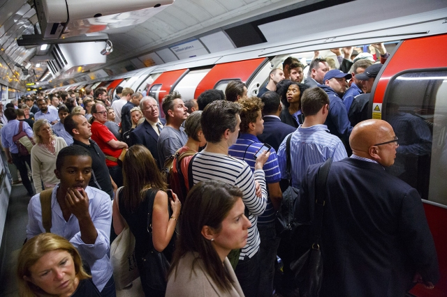 London Underground Commuting Hell
