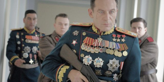 Jason Isaacs as Zhukov, a kick-ass Yorkishre Russian.
