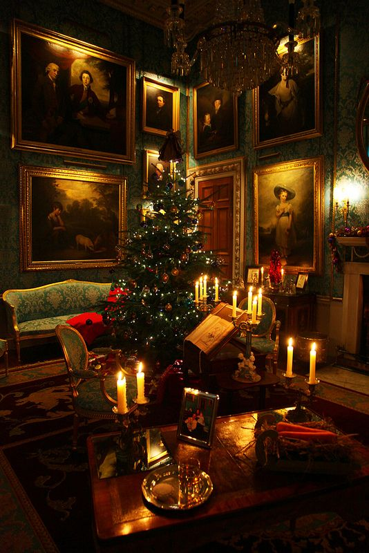 Victorian Christmas lives on in this stately home.