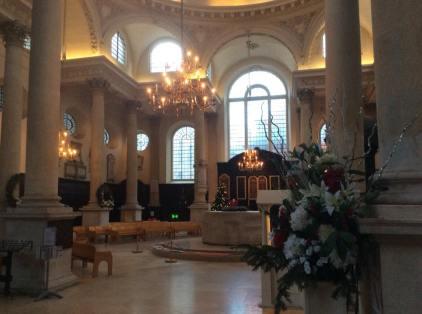 Inside St. Stephen Walbrook