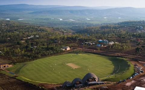 Cricket Brings Hope Stadium at Kigala, Rwanda.