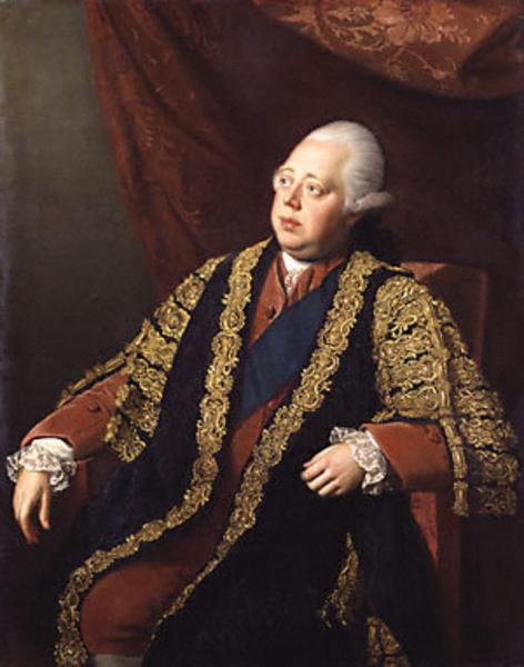 Frederick North, Lord North and amongst other things Prime Minister