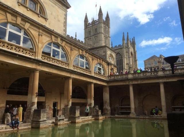The Roman Baths and Bath Abbey