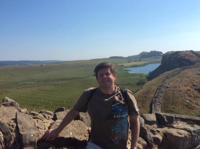 Me on Hadrian's Wall