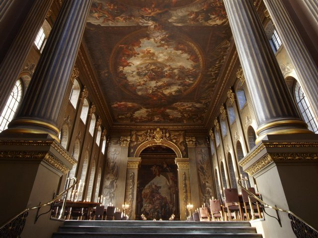 Inside The Painted Hall