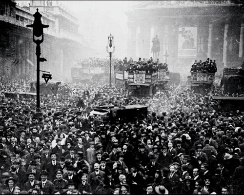 Armistice-day-in-London
