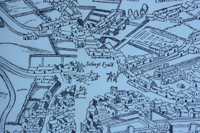 Smithfield_as_shown_on_the_Agas_map_of_1561