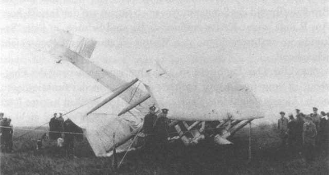 Their plane sunk nose first into the Irish bog.
