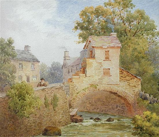 View_of_the_cobbler's_shop_on_the_bridge,_Ambleside_(undated)