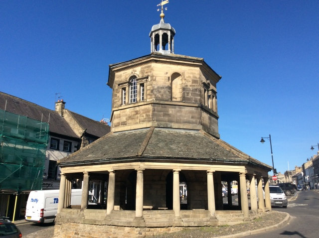 The old Market Cross Butter Market at Barnard Castle