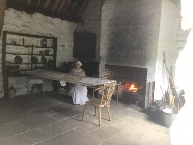 Inside the rebuilt home