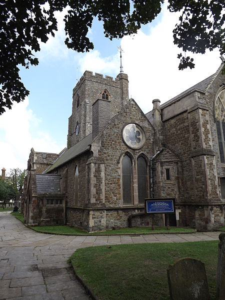Church of St Mary and St Eanswythe, Folkestone