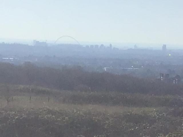 Looking over Wembley