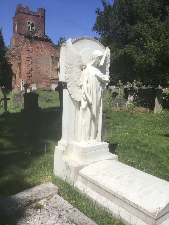 W S Gilbert grave