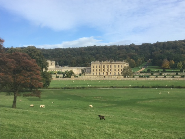 Chatsworth from drive