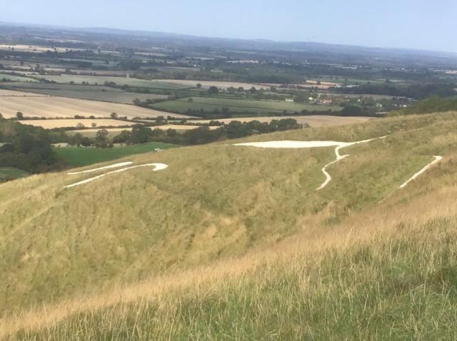 The Uffington Whitehorse