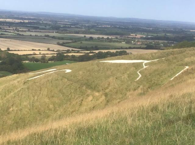The Uffington Whitehorse