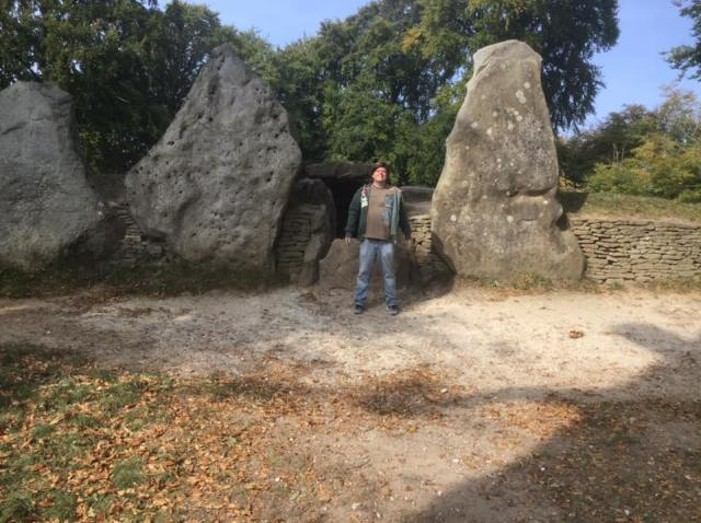 Me at Waylands Smithy