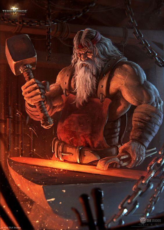 Völundr the Norse Elf smith