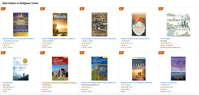 Secret Gardens of the City of London is now at number 3!