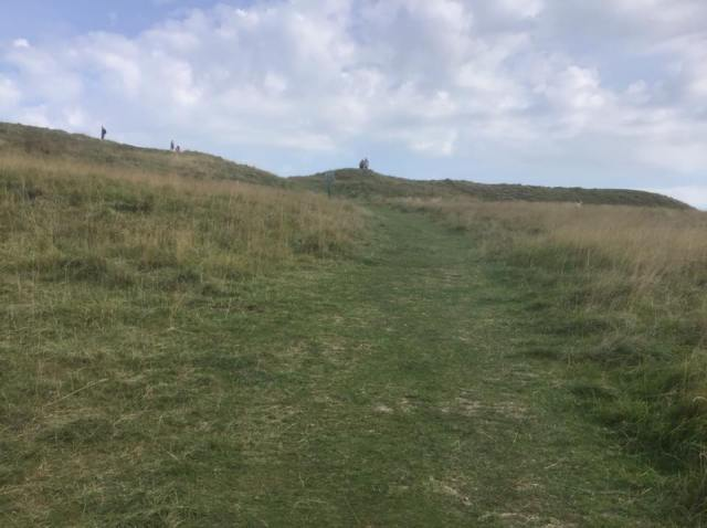 Clambering to the summit