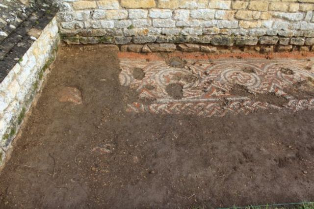 The Chedworth Roman Villa Mosaic