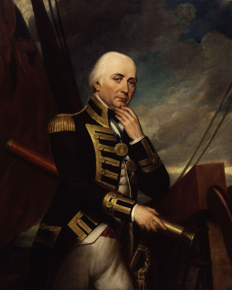 Vice Admiral Cuthbert Collingwood, 1st Baron Collingwood (26 September 1748 – 7 March 1810)