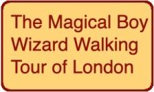 Boy Wizard Walking Tour