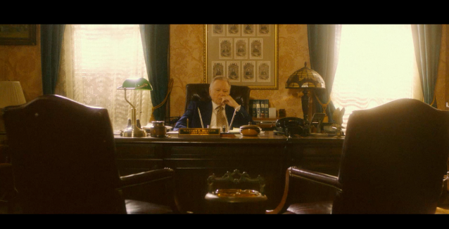 Jon Voight as Warren E. Burger - the 15th Chief Justice of the United States Supreme Court